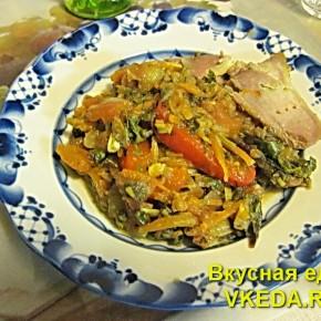 Аджапсандали - грузинское овощное блюдо